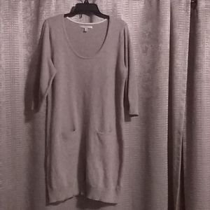Women's plus sweater dress